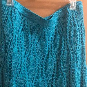 NWT Monroe & Main crochet skirt
